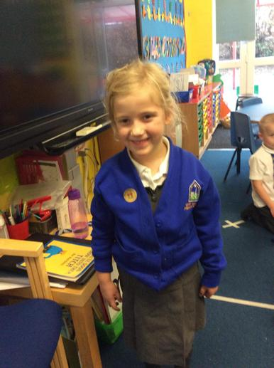 For such enthusiasm towards learning and being thoughtful and caring towards her peers.