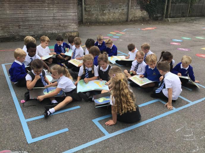 We had a look at an atlas
