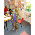 Red class has a dragon!