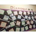 Year 1 dinosaur work