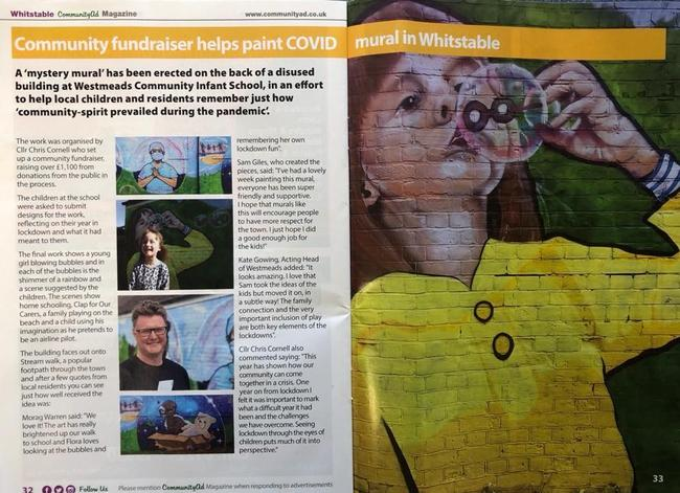 Whitstable Community Ad Magazine