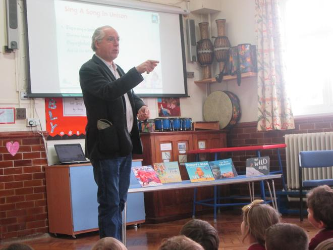 Visiting Author - Chris Wormell