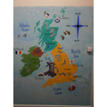 U.K Map Display