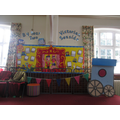 Whole school Victorian display