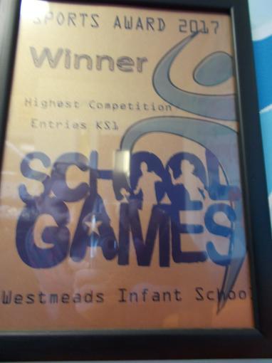 School Games Award 2017