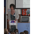 Visitor from the Whitstable Umbrella Centre