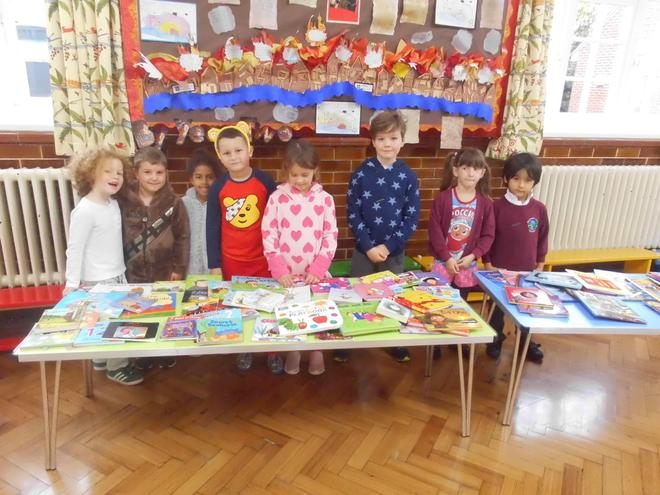 School Council at the Book Sale