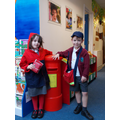 Our School Christmas post helpers