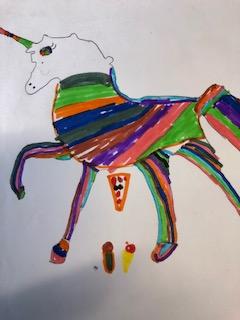 Rainbow Stallion Unicorn