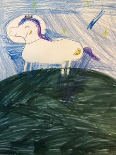 Alien Space Unicorn