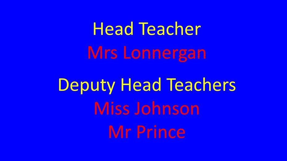 Head & Deputies
