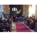 Ash Wednesday service led by our vicar and curate