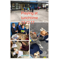 Our lunchtimes are changing to encourage play