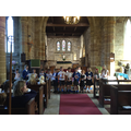 Children leading part of the service