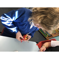 Every child created a Christingle for the service