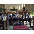 Our children led half of the service