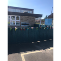 Year 1 Outside area