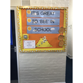 Our Attendance Board with 100%!!!!!!