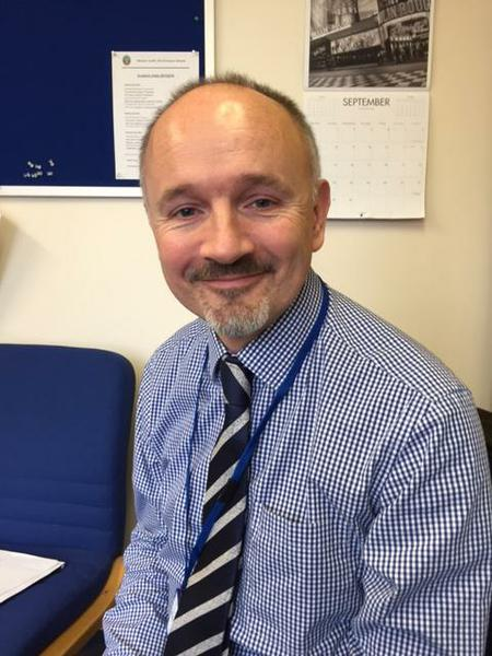 Mr Geoff Holmes  Head Teacher