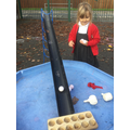 Collect the letter balls and make a word