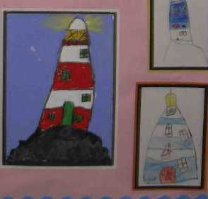 Paint or draw your own lighthouse