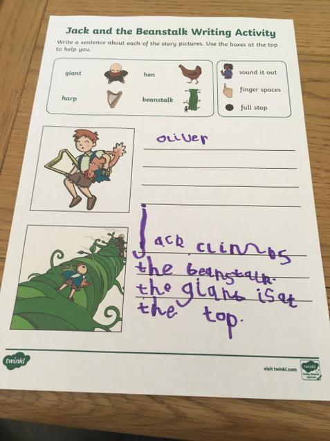 Oliver has started writing about Jack