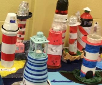 Make a model of a lighthouse