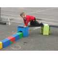 Designing and playing on obstacle structures