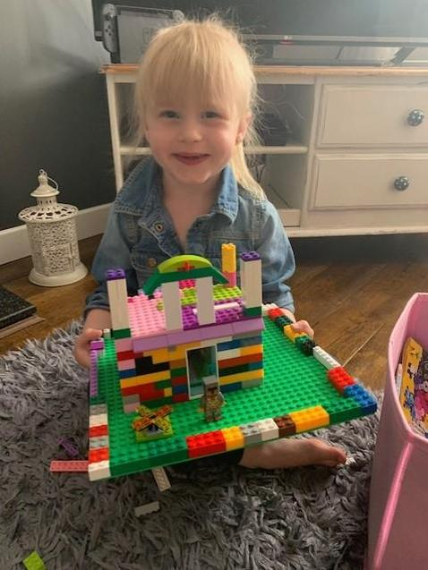 An awesome lego castle