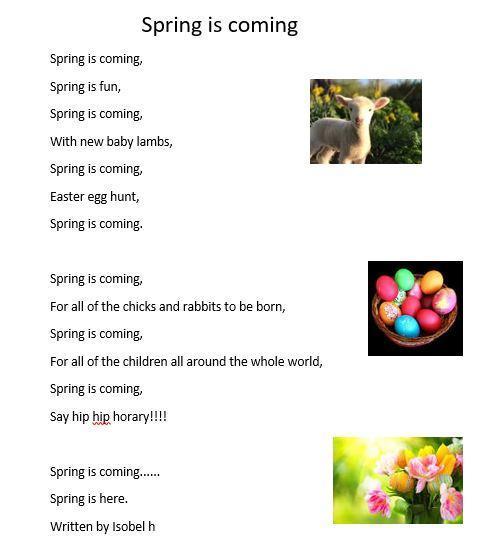 Isobel's poem