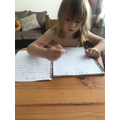 Writing to her best friend George