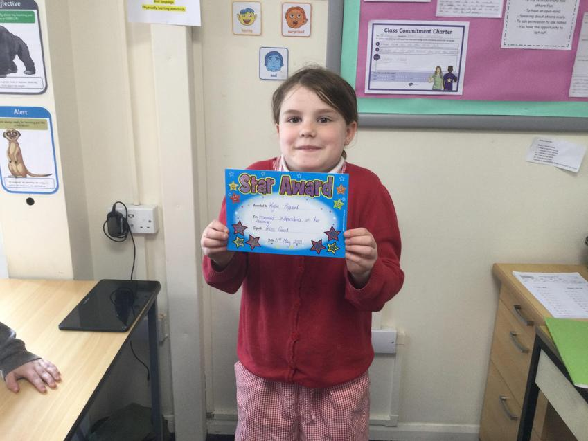 It is brilliant to see you really pushing yourself to work independently Kylie!