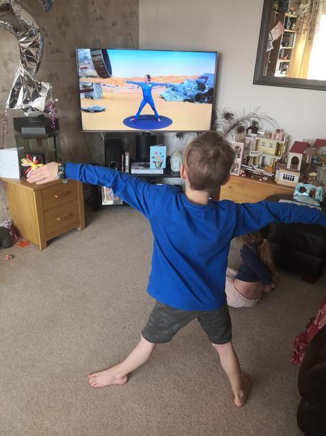 Jacob does Cosmic Kids!