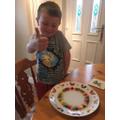 Skittle experiment - create a rainbow