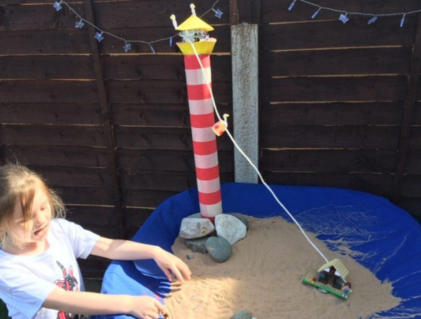 Make your own zip wire