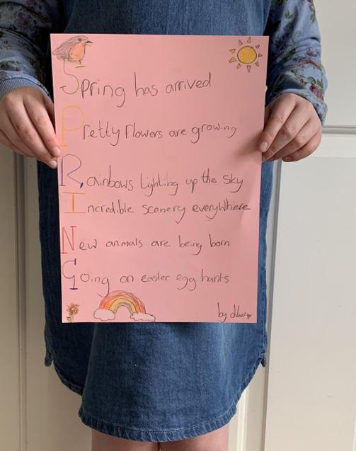 Chloe's poem