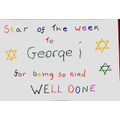 Odin kindly made George a certificate.