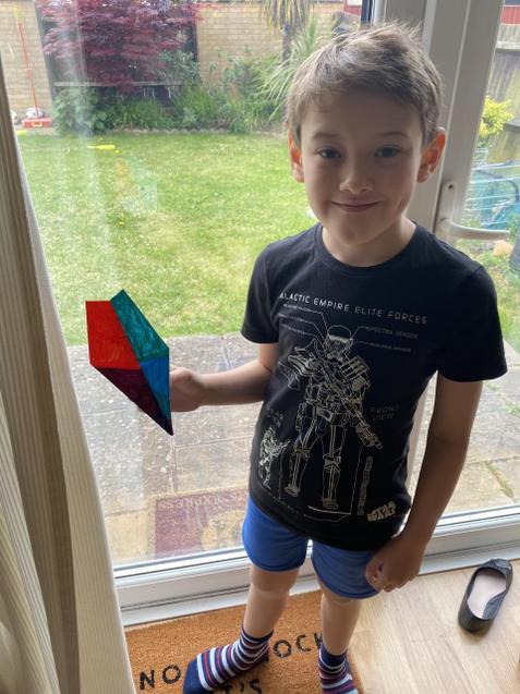 Euan's paper plane