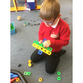 Construction using nuts and bolts
