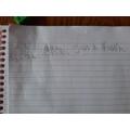 Careful writing about the caterpillar