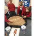 Sorting objects according to initial sound