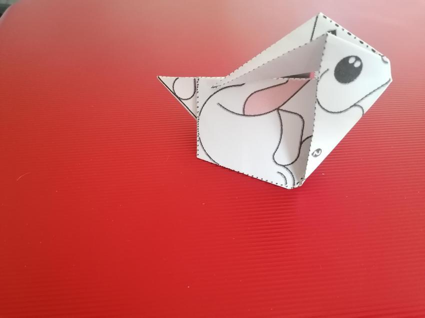Amelia's origami bunny