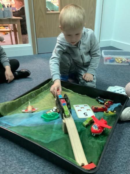 We explored how bridges worked.