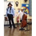 Playing the Cello with Key Strings