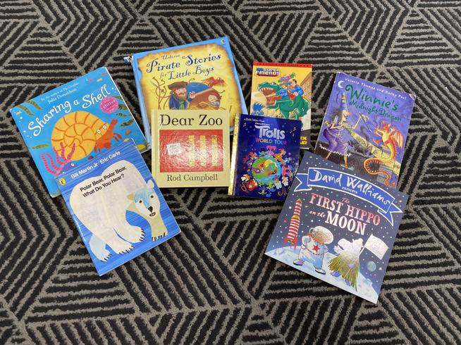 Our favourite books from Reception Class