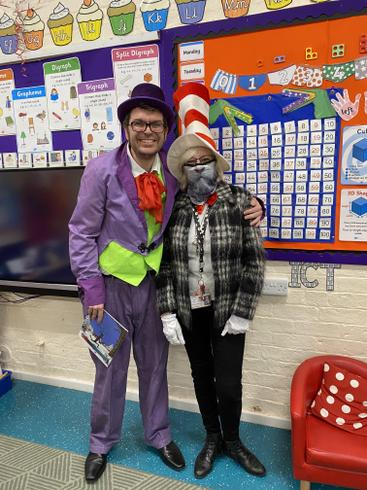 Willy Wonka and The Cat in the Hat