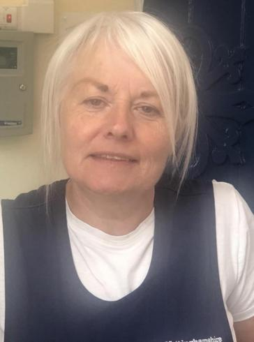 Sue Smith Cleaner in Charge