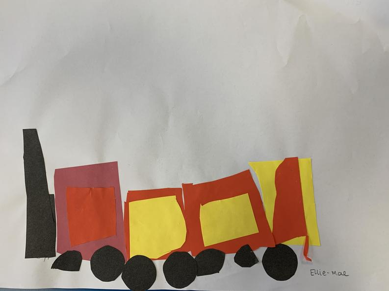 Ellie-Mae's Train