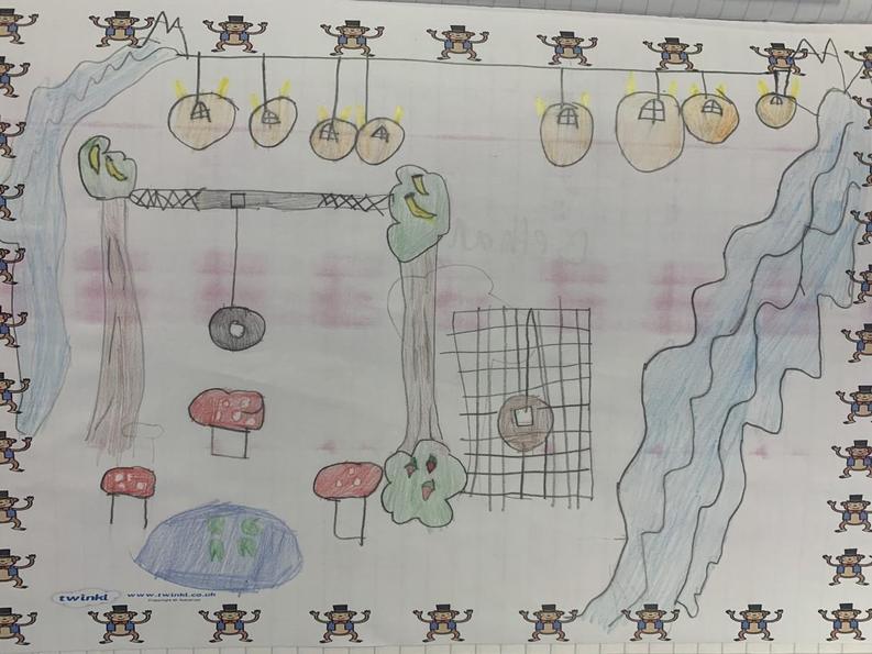 Bethany's monkey habitat