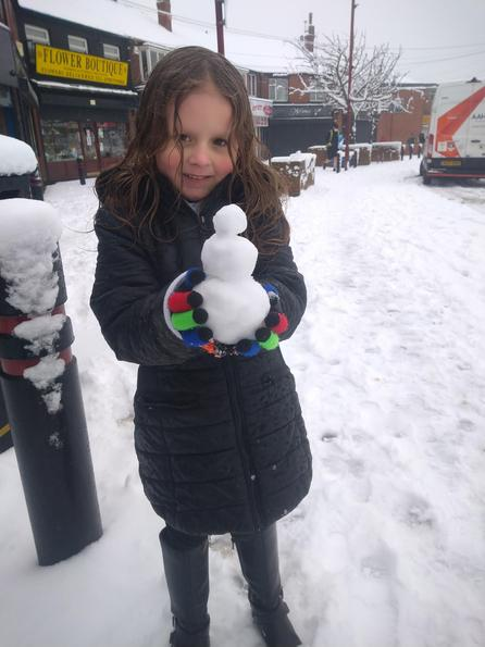 Lucii's snowman